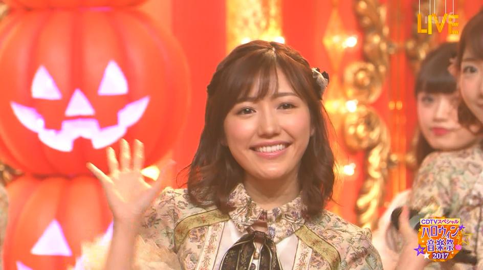 「11月のアンクレット」ハロウィン音楽祭で披露【まゆゆ】