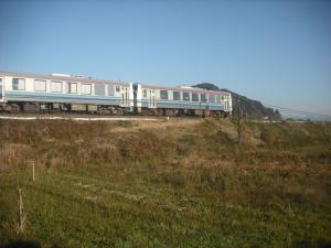 171128列車走る