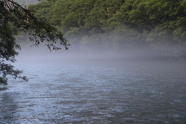 17早朝の大正池4
