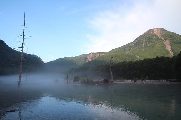 17早朝の大正池8