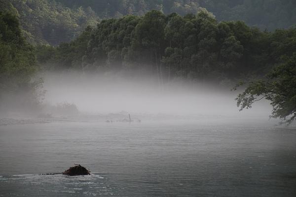 17早朝の大正池10
