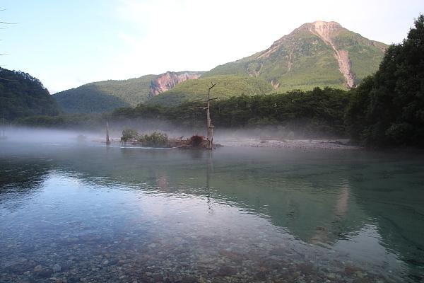 17早朝の大正池11