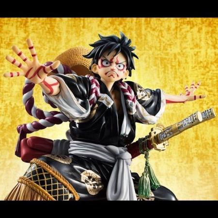 エクセレントモデル Portrait.Of.Pirates ワンピース KABUKI-EDITION モンキー・D・ルフィ 再演