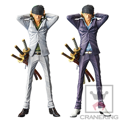 ワンピース KING OF ARTIST RORONOA ZORO WHITE&PURPLE ver.