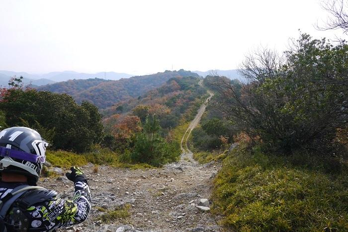 テラノ坂のテマエの坂ツー1711-007b