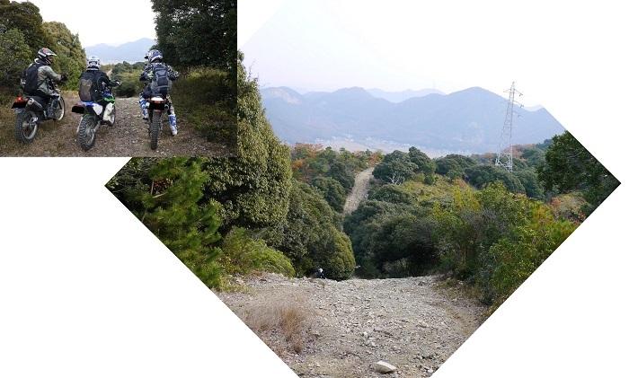 テラノ坂のテマエの坂ツー1711-010b