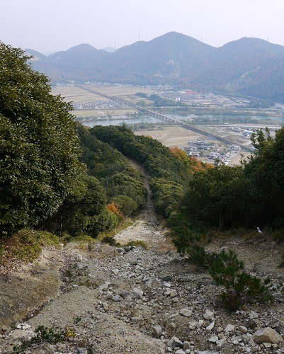 テラノ坂のテマエの坂ツー1711-015b