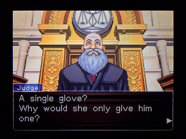 逆転裁判2 北米版 Yellow Glove16