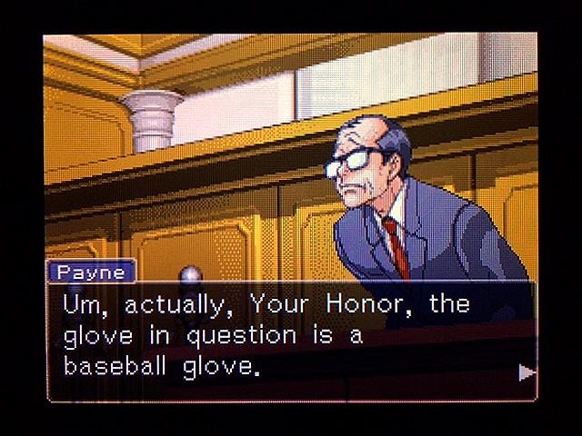 逆転裁判2 北米版 Yellow Glove17