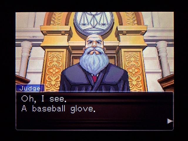 逆転裁判2 北米版 Yellow Glove18