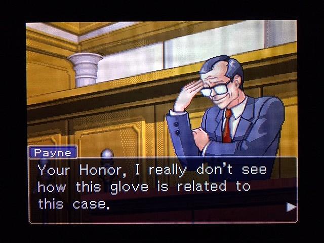 逆転裁判2 北米版 Yellow Glove30
