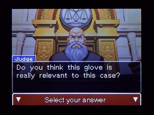 逆転裁判2 北米版 Yellow Glove32