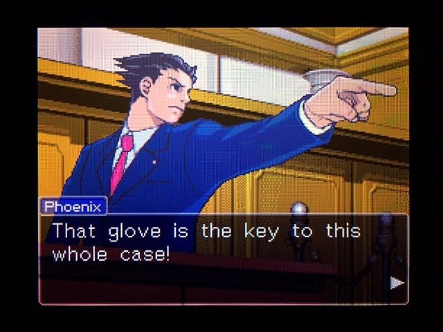 逆転裁判2 北米版 Yellow Glove36