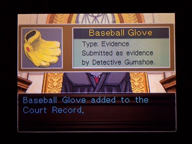 逆転裁判2 北米版 Yellow Glove46