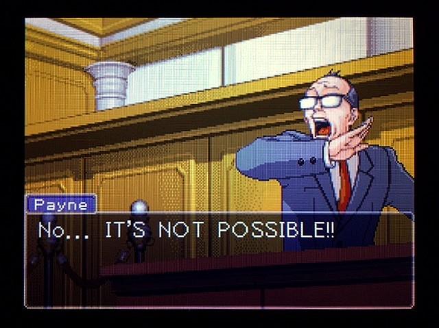 逆転裁判2 北米版 利き手39