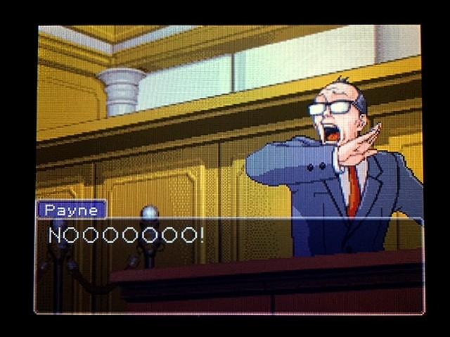 逆転裁判2 北米版 利き手44