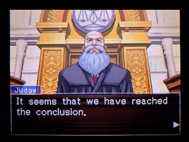 逆転裁判2 北米版 The Next Witness1