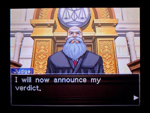逆転裁判2 北米版 The Next Witness6