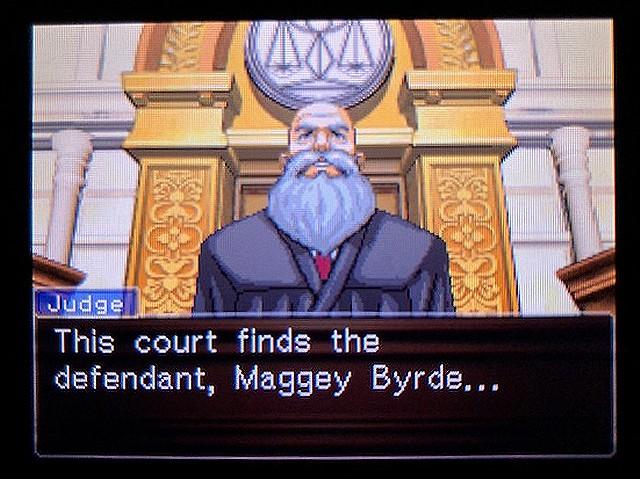 逆転裁判2 北米版 The Next Witness7