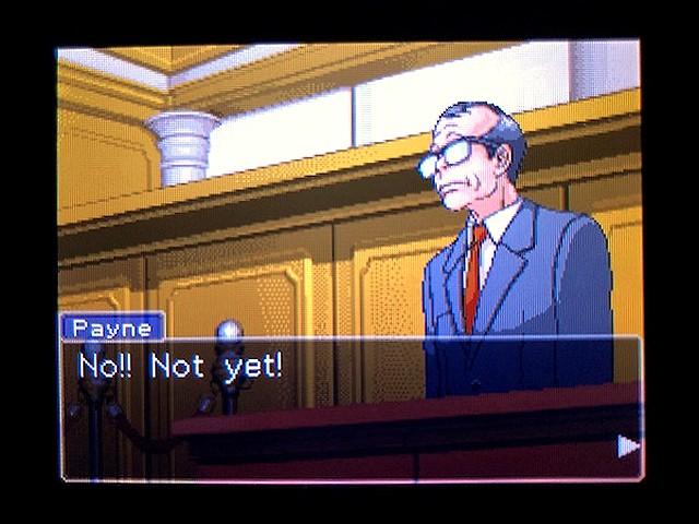 逆転裁判2 北米版 The Next Witness9