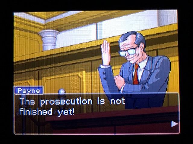 逆転裁判2 北米版 The Next Witness15