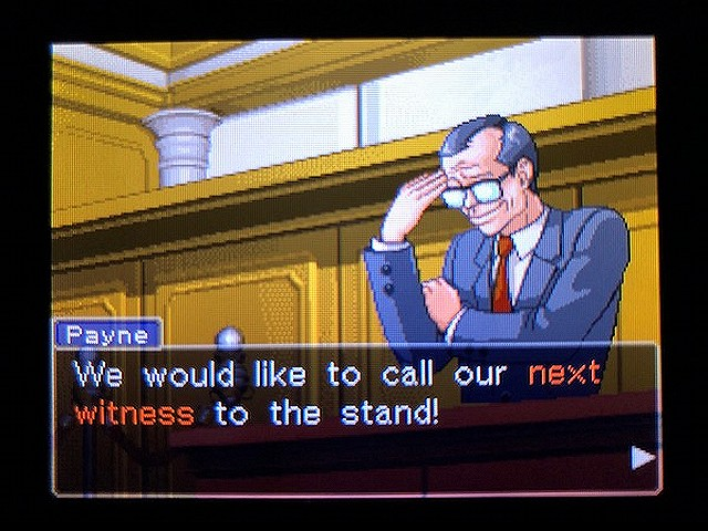 逆転裁判2 北米版 The Next Witness17