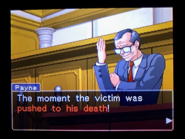 逆転裁判2 北米版 The Next Witness19