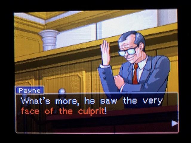 逆転裁判2 北米版 The Next Witness20