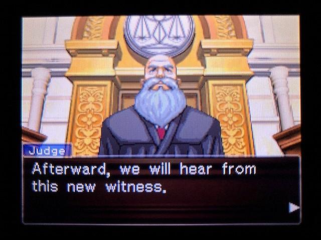 逆転裁判2 北米版 The Next Witness23