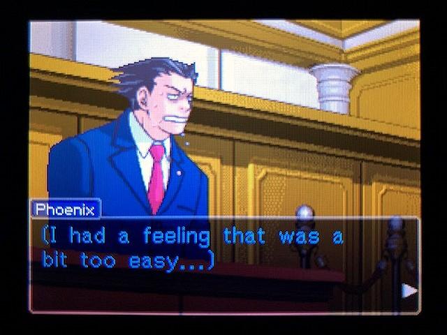 逆転裁判2 北米版 The Next Witness24