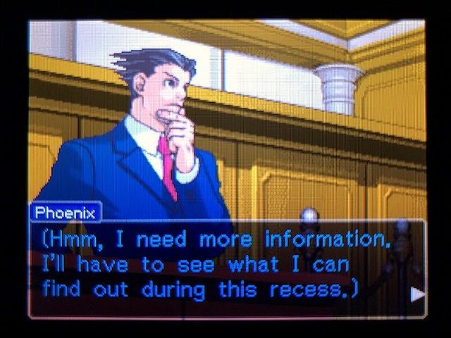 逆転裁判2 北米版 The Next Witness25