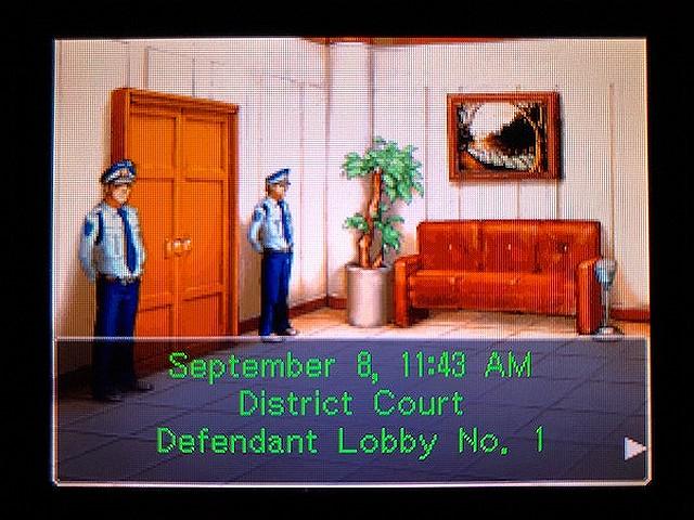 逆転裁判2 北米版 Recess1