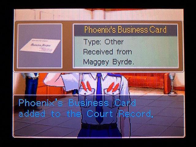 逆転裁判2 北米版 Recess18