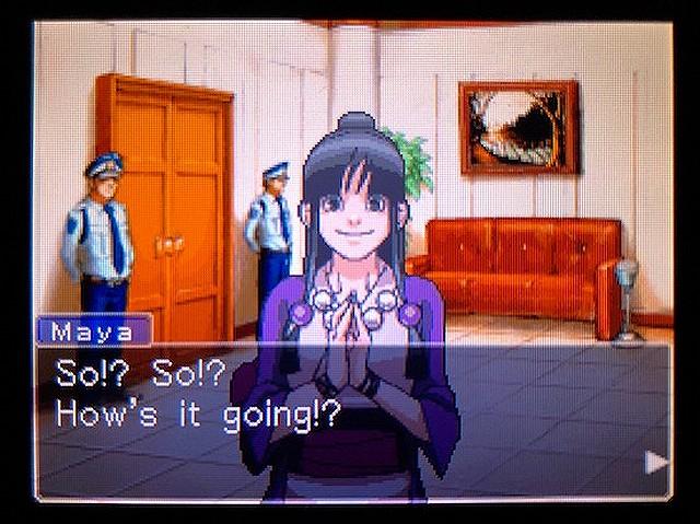 逆転裁判2 北米版 謎(?)の着物の女の子7
