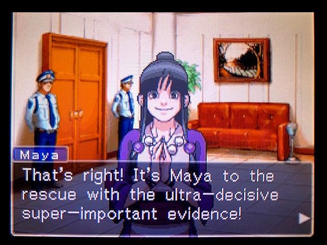 逆転裁判2 北米版 謎(?)の着物の女の子10