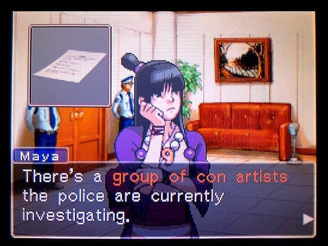 逆転裁判2 北米版 謎(?)の着物の女の子14