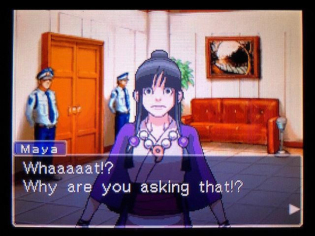 逆転裁判2 北米版 謎(?)の着物の女の子18