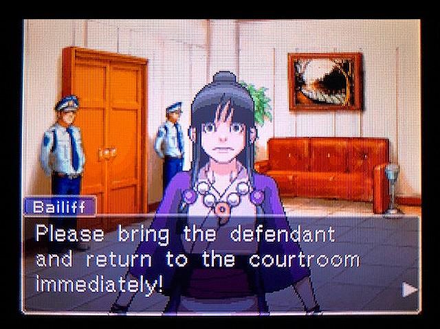 逆転裁判2 北米版 謎(?)の着物の女の子24