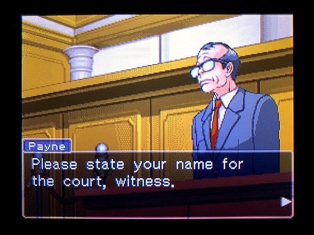 逆転裁判2 北米版 Richard Wellington10