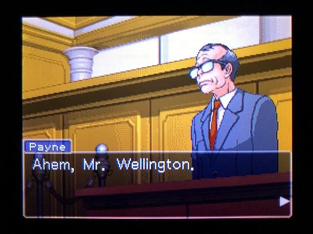 逆転裁判2 北米版 Richard Wellington34