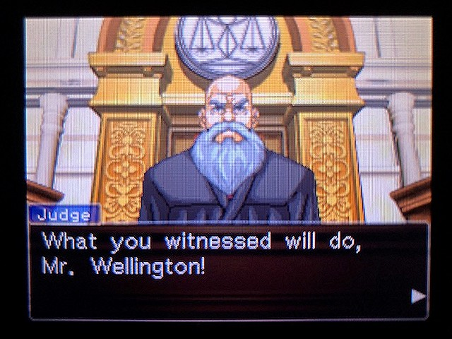 逆転裁判2 北米版 Richard Wellington39
