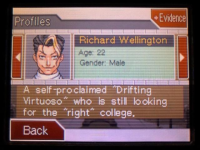 逆転裁判2 北米版 Richard Wellington40