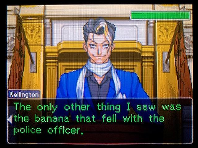 逆転裁判2 北米版 The banana15