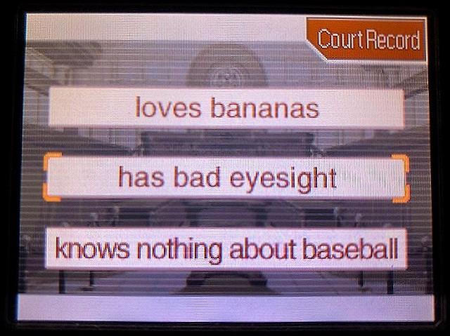 逆転裁判2 北米版 The banana28