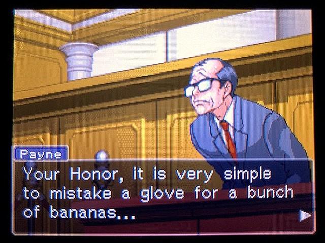 逆転裁判2 北米版 The banana32