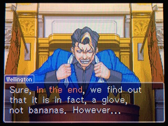 逆転裁判2 北米版 The banana37