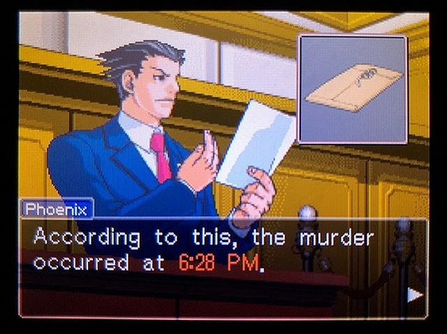 逆転裁判2 北米版 食い違う時間14