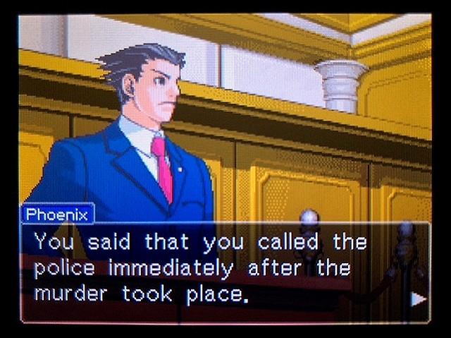 逆転裁判2 北米版 食い違う時間16