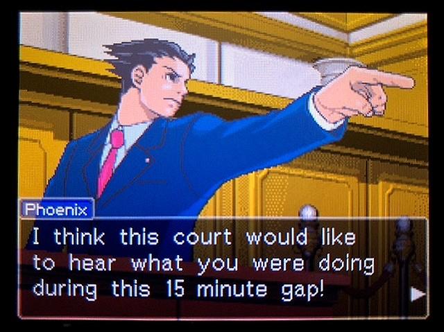 逆転裁判2 北米版 食い違う時間20