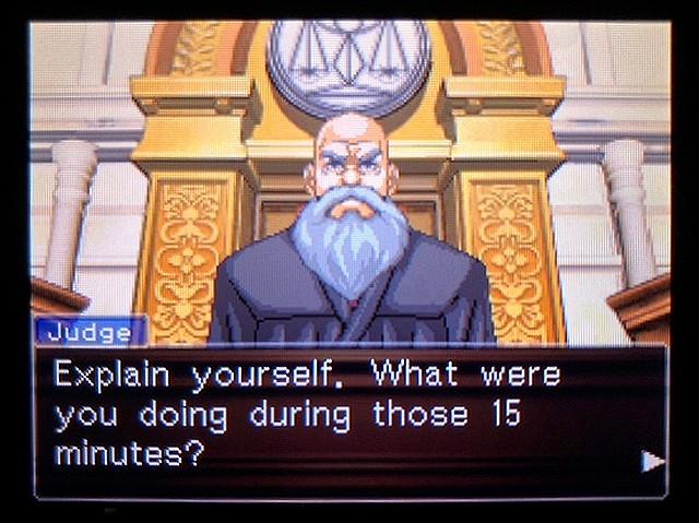 逆転裁判2 北米版 食い違う時間27